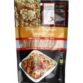 Bio Spaghetti aus Sojabohnen - 200g - Explore Asian
