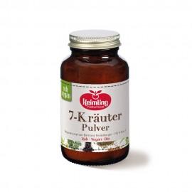 7-Kräuter-Pulver - 80g - Keimling