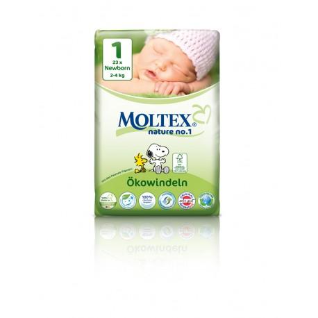 Moltex Öko-Windeln Newborn Gr.1