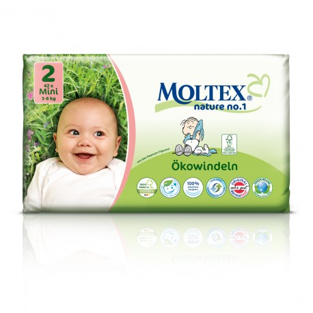 Couches Moltex Mini 3-6 kg Gr.2