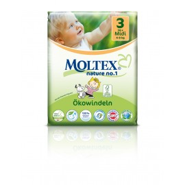 Couches Moltex Midi 4-9 kg Gr.3