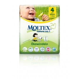 Couches Moltex Maxi 7-18 kg Taille 4