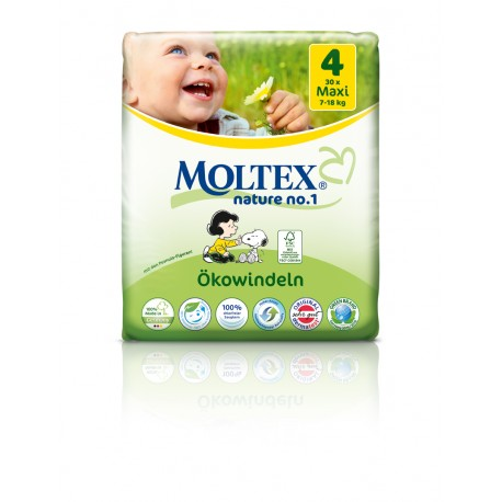Couches Moltex Maxi 7-18 kg Gr.4