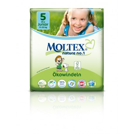 Moltex Öko-Windeln Junior 11-25 kg Gr.5