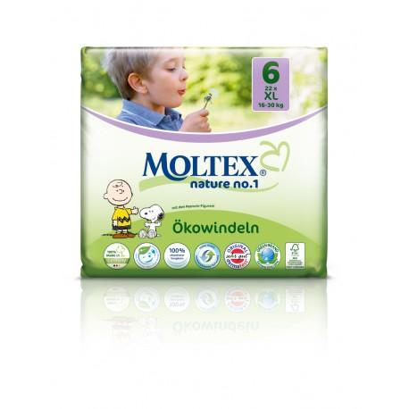 Couches Moltex XL 16-30 kg Gr.6