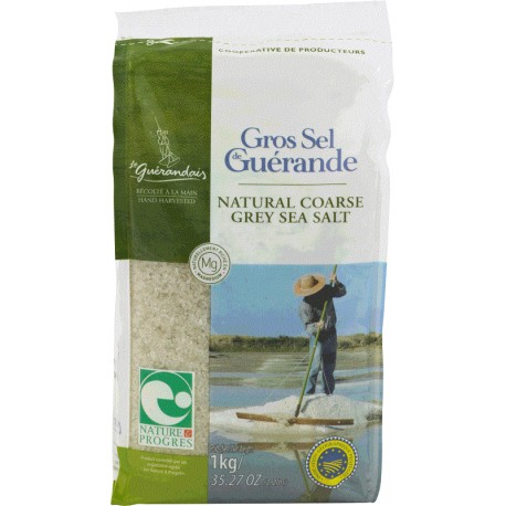 Gros sel de Guérande - 1kg - Le Guérandais