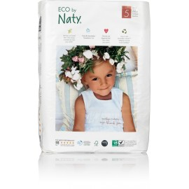Couches-culottes Naty Junior 12-18 kg, Taille 5