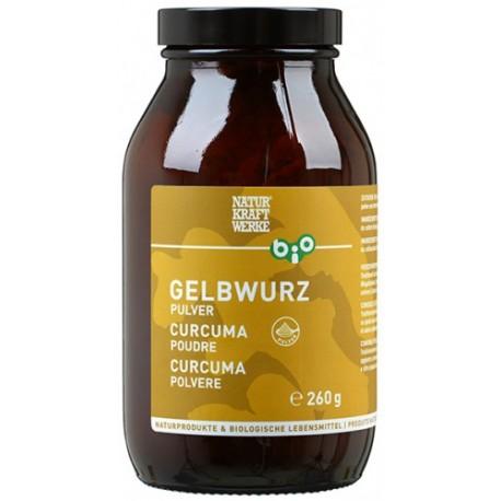 Bio Gelbwurz Pulver - 260g - Naturkraftwerke