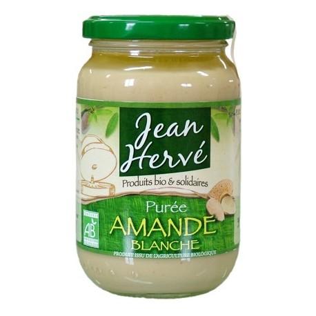 Purée d'amande blanche, Bio - 350g - Jean Hervé