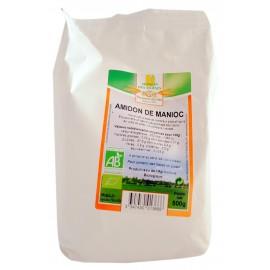 Amidon de manioc bio - 500g - Moulin des Moines