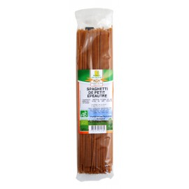 Spaghetti de petit épeautre bio demi complets - 250g - Moulin des Moines