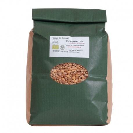 Bio Weizenkörner keimfähig - 1kg - Eschenfelder