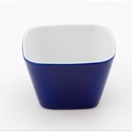 Bol à céréales bleu en porcelaine pour floconneuse Novia