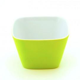 Bol à céréales vert en porcelaine pour floconneuse Novia