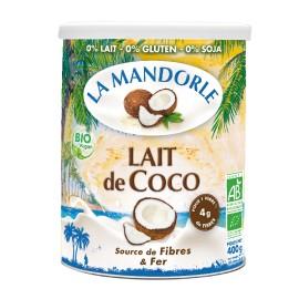 Lait de coco bio - 400g - La Mandorle