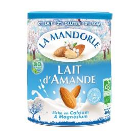 Lait d'Amande instantanée bio - 400g - La Mandorle