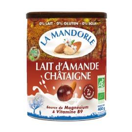 Lait d'Amande Châtaigne instantanée bio - 400g - La Mandorle