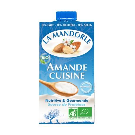 Mandel Cuisine Bio - 250ml - La Mandorle