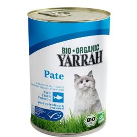 Yarrah Bio Katzenfutter Fischpastete - 400g
