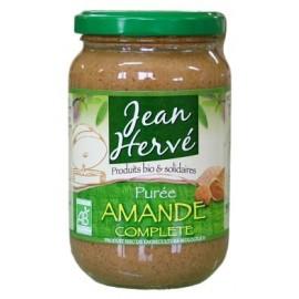 Mandelmus braun aus ganzen Mandeln, Bio - 350g - Jean Hervé