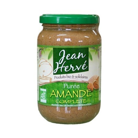 Purée d'amande complète, Bio, - 350g - Jean Hervé