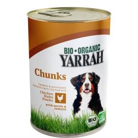 Yarrah Bio Hundefutter Hühnerragout - 405g