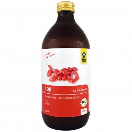 Jus de baies de Goji bio - 500ml - Raab
