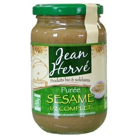 Purée de sésame 1/2 complet, Bio, - 350g - Jean Hervé