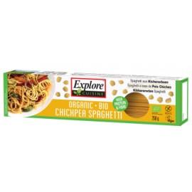 Spaghetti bio aux pois chiches - 250g - Explore Cuisine