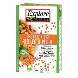 Bio Penne aus Roten Linsen - 250g - Explore Cuisine