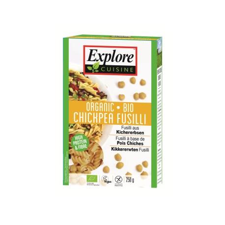 Bio Fusilli aus Kichererbsen - 250g - Explore Cuisine