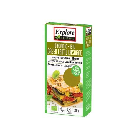 Bio Lasagne aus Grünen Linsen - 250g - Explore Cuisine