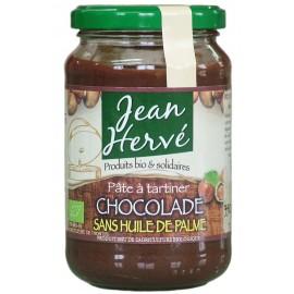 Chocolade noisettes/cacao avec lait, Bio - 350g - Jean Hervé