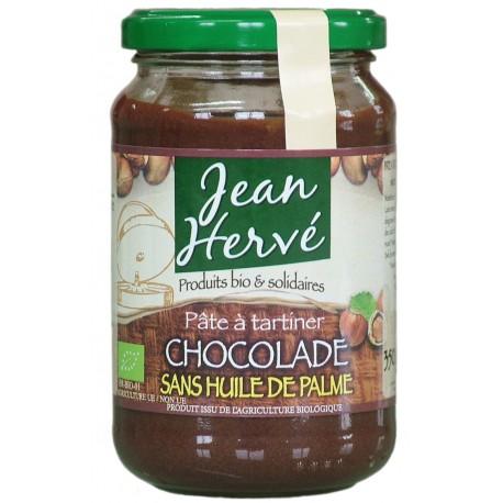 Chocolade Schokoladennusscreme, Haselnüsse/Kakao, Bio - 350g - Jean Hervé