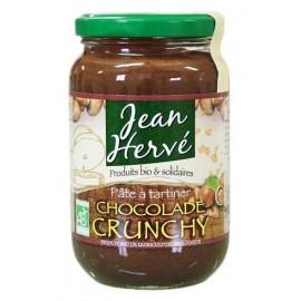 Crunchy Chocolade mit Haselnusssplittern - 350g - Jean Hervé