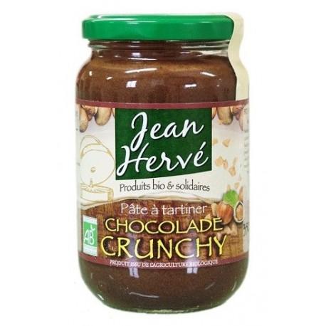 Crunchy Chocolade aux éclats de noisettes - 350g - Jean Hervé