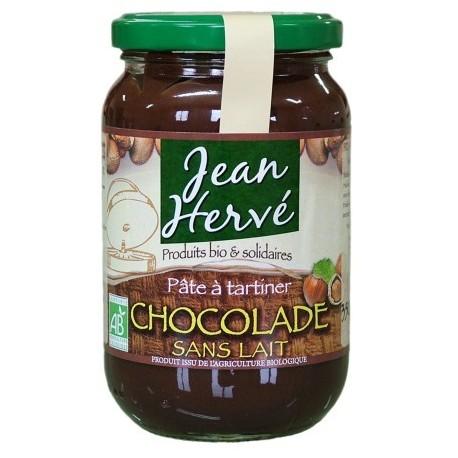 Chocolade Bio Schokoaufstrich ohne Milch - 350g - Jean Hervé