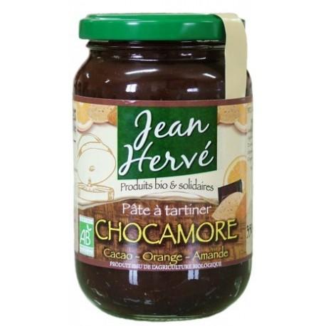 Chocamore amandes/agave/cacao/orange confite, Bio - 350g - Jean Hervé