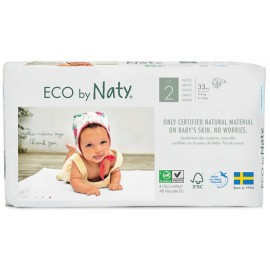 Couches Naty Mini 3 - 6 kg, Taille 2
