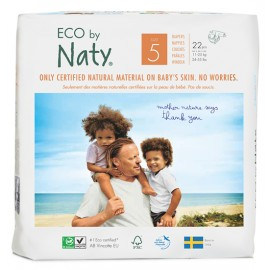 Couches Naty Junior 11 - 25 kg, Taille 5