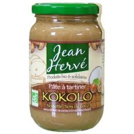 Kokolo noisettes/noix de coco, avec du suc de canne intégral, Bio - 340g - Jean Hervé