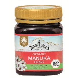 Miel de Manuka MGO 550+ Bio 250g - Hoyer