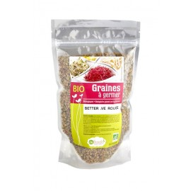 Betterave rouge Bio Graines à germer - 100g - De Bardo