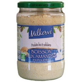 Milkerve Mandeln - Mandelmilchpulver mit Einkorn und Vollrohrzucker, Bio - 300g - Jean Hervé