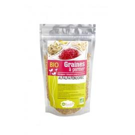Alfalfa / Fenugrec Mélange de Graines à germer Bio - 200g - De Bardo