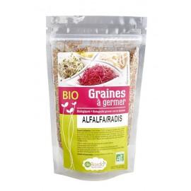 Alfalfa / Radis Mélange de graines à germer Bio - 200g - De Bardo