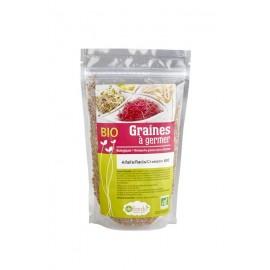 Alfalfa / Radis / Cresson Mélange de graines à germer Bio - 200g - De Bardo