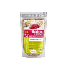 Alfalfa /Radis / Moutarde Mélange de graines à germer Bio - 200g - De Bardo