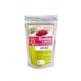 Les 3 Blés Bio - Mélange de graines à germer - 200g - De Bardo