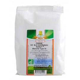 Farine bio de blé Khorasan Kamut® blanche - 500g - Moulin des Moines